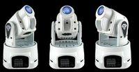 Wholesale 15W RGB Multi Color Change DMX Controller LED Mini Moving Head Spot Light White Stage Light