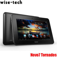 Wholesale 7 Ainol NOVO7 Tornados Tablet PC Android Capacitive screen GB RAM GB HDD Wifi Camera Co