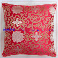Wholesale Mulberry Silk Pillow Case High quality Decorative Double sided floral patterns Free