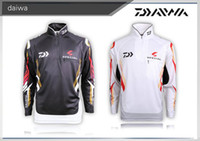 Wholesale Professional fishing sport outdoor sun sporting goods DAIWA DE zipper style fishing clothes