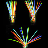 Wholesale Multi Color Glow Fluorescence Sticks Bracelets Necklaces Neon Party Bright Colorful pc