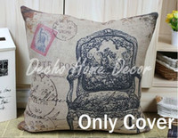 Wholesale Luxurious Classic vintage sofa seat Pillow case Cushion Cover