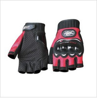 Wholesale gloves Half Finger fingerless Gloves Motobike Motorcycle bike Cycling Racing Gloves