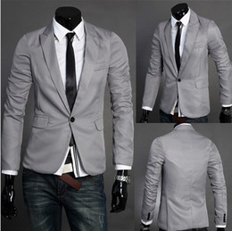 Wholesale Fashion Men s turndown suit British slim fit small suit short coat Men leisure blazer business suit