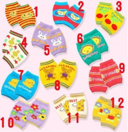 12 Pairs Toddle Baby Arm Leg Warmers Infant Boys Girls crawling knee pads Children legging Socks