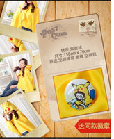 Wholesale Retail Lovely plush Cloak Cartoon Cloaks air condition Shawls
