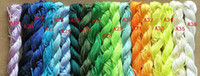 Wholesale 250m yds mm MultiColor Beading Polyester Cord beaded bracelet braided rope