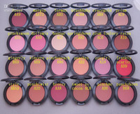 Wholesale Shimmer Blush g color No mirrors no brus Free gift AA03
