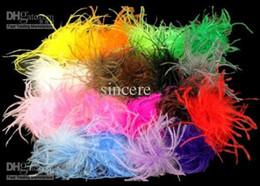 2012 ostrich puffs fashion ostrich feathers ostrich puffs Light pink ostrich puffs 50pcs mix color