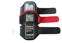 Wholesale Sport Arm Band For Iphone G S th armband leather Jacket case skin cover cases pc