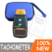 Wholesale LCD Digital Laser Photo Tachometer Non Contact RPM Meter Tach EB506