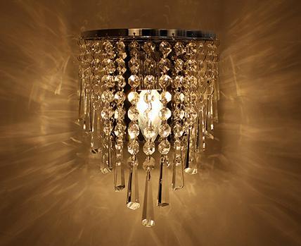 Wholesale Vintage K9 Wall Crystal Chandelier Pendant Lamp