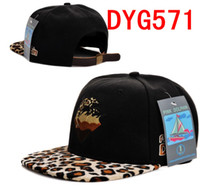 Wholesale Pink Dolphin Hats Snapback Caps adjustable Hat Leather Caps Leopard grain snakeskin Caps Boys Hat