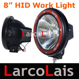 "12V 24V 8"" 35W 55W Work Light HID Xenon Vehicles Driving Spot Light Spotlight Offroad White"