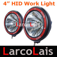 Wholesale HOT SELLING V W quot inch HID DRIVING WORKING WORK SPOT FLOOD LIGHTS XENON X4 SUV CAR JEEP