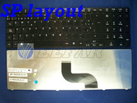Wholesale Acer Aspire keyboard T SP Spanish TECLADO black