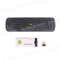 Wholesale 10pcs New RC11 Fly Air Mouse Keyboard G Wireless for PC Android TV Box Smart TV Notebook