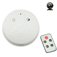 Wholesale Promotion SPY Smoke Detector model Camera Hidden DVR Surveillance Cam with Remote Control from Yitech