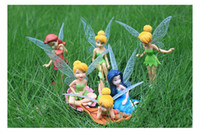 Wholesale High Quality PVC Tinkerbell Fairy Adorable Figures NEW and retail