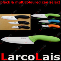 Wholesale 6 quot quot quot inch Paring Knife inch Fruit Knife inch Chef Knife White Ceramic Knife Set