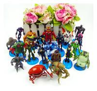 Wholesale Ben Alien Force action figure toys Set of Anime PVC Figures Set Toy cm