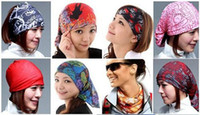 Wholesale 18 Hot Headwear Magic Seamless Multi Functional Head Scarf Kerchief Outdoor Sports Cycling
