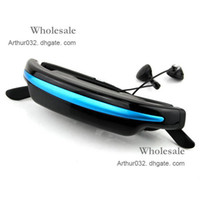 Wholesale High Recommend Portable Eyewear quot Widescreen Multimedia Player Video Glasses Virtual Theatre GB