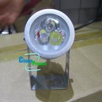Светодиодные сад привели газон света лампы наружного освещения 3 * 1W/1 * 3W DC 12V водонепроницаемый 20шт высокое качество