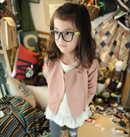 beautiful america - beautiful girls Leather Coat pink colour Europe and America children fur clothing Coat Factory Sell