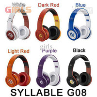 Wireless MP3/MP4 Mono Syllable G08 Noise Cancellation Wireless Bluetooth Headphones Earphone with MIC Update Version EMS