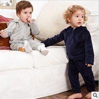 sweat suit - Children unisex Hoodies Suits Sweat shirts Pants Children Garment High quality Velvet Pink Outfit