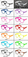Wholesale 50 New Arrival Fashion Clear Lens Glasses Colors in choice