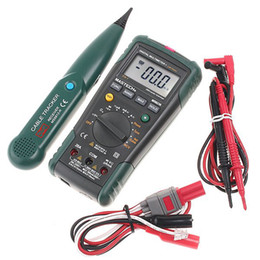 Wholesale Digital Multimeter Network Cable Track Tester MASTECH MS8236 dropshipping O084