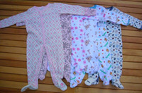 Wholesale Wholesaler Newborn Kawai Baby Rompers Baby Pajamas Sleepers sleepwear Fall Winter Clothes pc