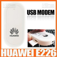 Wholesale 20pcs Unlocked UMTS Huawei E226 G USB wireless Modem HSDPA usb stick mbps