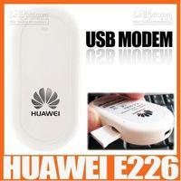 usb huawei hsdpa wireless modem - 20pcs Unlocked UMTS Huawei E226 G USB wireless Modem HSDPA usb stick mbps