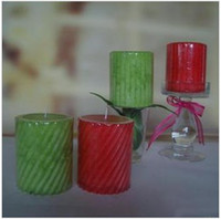 Wholesale Aromatherapy candles Spiral pattern Gift Home decoration g Yankee candle Smokeless candles