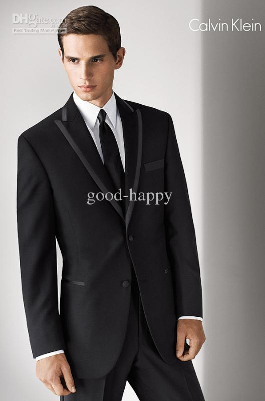Best Selling Men Suits Groom Tuxedos Men's Wedding Dress Prom ...