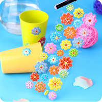 Wholesale VINYL STICKERS PUFFY SCRAPBOOKING cm art kids flower batch new mixed S