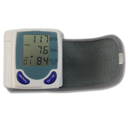 Wholesale Wrist Blood Pressure Monitor With LCD Screen Display New Ship From USA H00030
