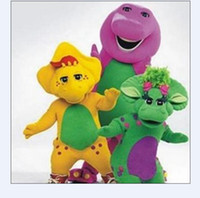 Unisex barney activities - 2012 new Barney and dragon friends Adult Cartoon Mascot Costume Christmas activities