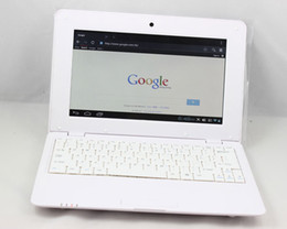 Wholesale cheapest inch VIA8850 netbook with camera and HDMI andriod OS M GB C312 W