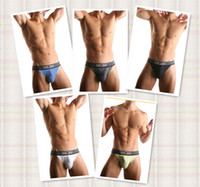 Nylon men underwear thong - Men s Sports Underwear HOM Sexy Thong Briefs High Quality colors