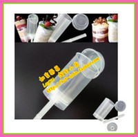 Wholesale wholsesale pop cupcake container push up cake clear plastic cake container cs