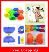 Wholesale Funny Diabolo Juggling Spinning Kit Most Popular Chinese Yo Yo Toy The Devil On Two Sticks