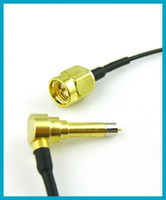 RF Pigtail SMA Plug male to C2 male plug connector adapter 1...