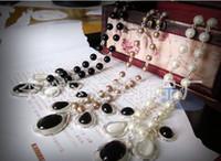 . balck diamonds - Hot sale balck crystal necklace diamond necklace gemstone pendant jewelry wedding jewelry
