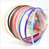 Wholesale Export of new environmental protection material Lowest good quality bright candy colored hair bands