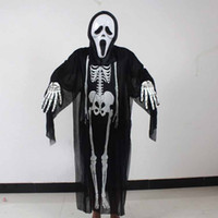 Wholesale Halloween Masquerade costumes Horror Masks Skeleton gloves Halloween Props For Men