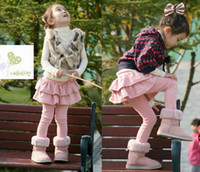 Wholesale Girls Leggings Tights with Skirts Children s skirt Girls Skirt pants Cake skirt Girl s pants p
